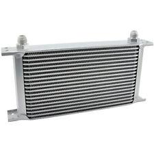 Ölkühler 19 Reihen - AN8 Anschluss Universal Zusatz Öl Kühlung Extern Oil Cooler
