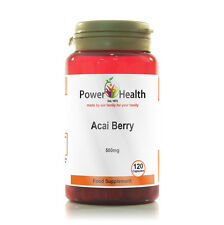 Power Health - Acai Berry Extract - 500mg - 120 Capsules - Weight Loss Diet