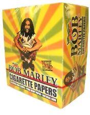 Bob Marley King Size Pure Hemp Cigarette Rolling Paper! 50 Packs X 33 Leaves!