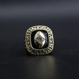 Joe Kapp Ring 1969 Minnesota Vikings Ring Vikings Championship Ring with Box