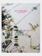 A.F. VANDERVORST LOOKBOOK RARE PARIS CATWALK RUNWAY VIP CATALOGUE 2008 SUPERMODE