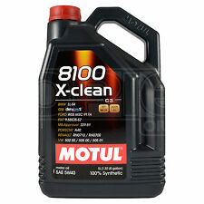 Motul 8100 X-clean 5w-40 Engine Oil 5 Litre Can