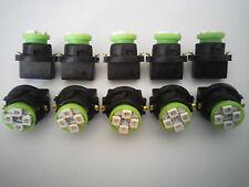 Fits Jeep 10 Green 4 LED Dashboard Instrument Panel Indicator Light Bulb Socket