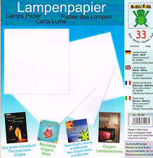 Origami Lamps or other Paper Craft Projects- 33 Sheets 30 cm Origami.Craft Paper