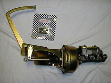 1935 1936 Chevy Power Brake Booster Master Cylinder Pedal Bracket Assembly