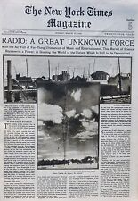 86 RADIO CLIVEDEN ASTOR FOX HITLER SCHUPOS RUSSIA 5TH AVE EASTER 1932 March 27