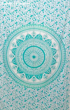 Tapestry Wall Hanging Bedspread Bright Hippie Twin 85 * 55 Indian Mandala Ombre