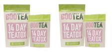 2 x Bootea 14 Day Teatox 28 x Daytime & 14 x Bedtime Tea With SENNA BBE 3/1/18