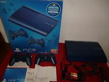 PS3 Console Play Station 3 PS3 SUPERSLIM 12 GB BLUE EDITION – PAL ITA
