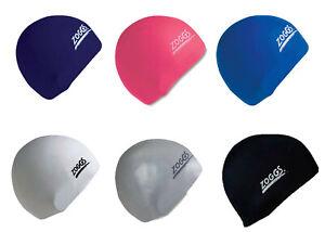 Latex Swim Cap Zoggs Australia Swimming All Colours
