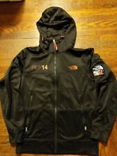 The North Face Track Jacket RUSSIA olympic 2014 Mens Medium rare