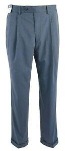 Ralph Lauren Men's The Total Comfort Suit Dress Pants 34x30 Blue MSRP $79.50