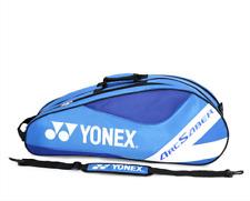 YONEX Badminton Bag Blue Single Strap Hold 3-4 Racquets Two Compartments
