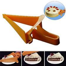 Cake Pie Slicer Cutter Spatula Server Guide Blade Kitchen Tool Bread Dessert J