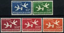 Guinea 1959 SG#209-213 Birds, Air MNH Set #D58318