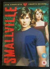Smallville complete fourth series - brand new sealed packaging Rated 15 - DVD