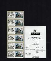 STEAM  GWR SWINDON 175 LOCO DIGITAL SEPT 16 Post Go COLLECTOR STRIP B9GB16