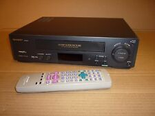 SHARP VIDEO TAPE PLAYER/RECORDER VCR VHS SUPER PICTURE VC-M271