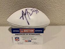 Anthony Weaver Signed Mini Football PSA/DNA 1N17587