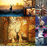 Deer Animal Full Drill DIY 5D Diamond Painting Cross-Stitching Embroidery Arts