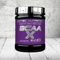 Scitec Nutrition BCAA-X Essencial BCAA Amino Acids 120/330 Caps