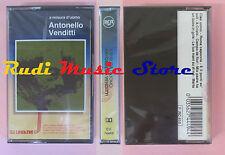 MC ANTONELLO VENDITTI A misura d'uomo italy RCA CK 74449 SIGILLATA cd lp dvd vhs