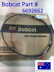 Bobcat OEM Genuine Throttle Cable 6692662 S160 S185 S205 T180 T190 Accelerator