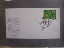 NEW ZEALAND 2001 A SPACE ODYSSEY STAMP EXPO DAY 3 SOUVENIR COVER