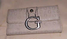 Guess By Marciano Ivory Trifold Wallet