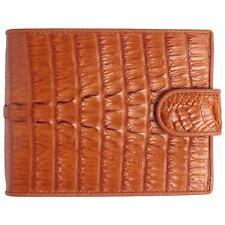 Genuine Crocodile Tan Bone Tail Skin Men Coin Wallet Purse USCM100T PKK Leather