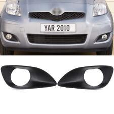 Front Bumper Fog Driving Lamp Light Cover Bezel Trim For Toyota Yaris 2007-2012