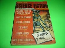 Thrilling Science Fiction Adventures No.14 Fall 1969 Fairman , Wilcox , Robinson