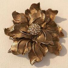 Vintage Signed HAR Floral Brooch