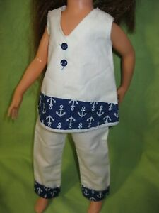 VINTAGE 1970's Kerry CRISSY Doll Size AFTERMARKET Clone ANCHOR PRINT OUTFIT