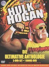 WWE Hulk Hogan Ultimative Anthologie 3 DVD Set + Bonus DVD WWF Wrestling