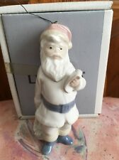 Lladro 5842 Santa Claus Ornament Retired Glossy! Original Box! Mint Condition!