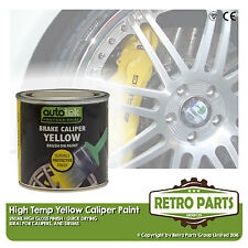 Yellow Caliper Brake Drum Paint for Peugeot 504. High Gloss Quick Dying