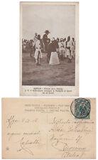 SOMALIA Cartolina BENADIR GOVERNATORE a  ASCARI C.5 su2 ELEFANTE MOGADISCIO 1908