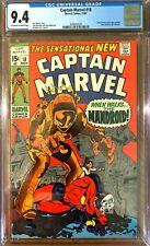 Captain Marvel #18 CGC 9.4 Carol Danvers Gains Super Powers Key Silver Age Issue