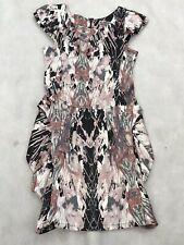 Womens Fashion Lipsy London Dress UK 8 Multicolour Zip Fastening 2/7 K