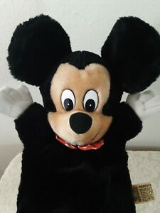 Vintage Mickey Mouse Hand Puppet Applause Walt Disney