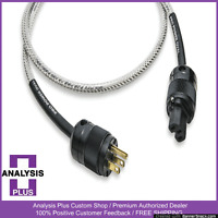 ANALYSIS PLUS 5ft Pro Power Oval Premium Amplifier Cable