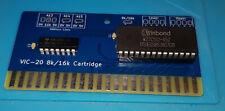 More details for custom commodore vic-20 8k/16k cartridge + eprom