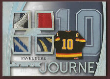 PAVEL BURE 2015 Leaf Ultimate Journey Silver Spectrum UJ14 AMAZING PATCHES 1/1