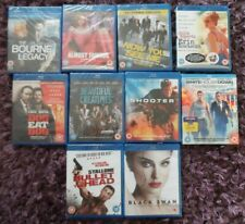 Blu-ray 10 Films Movie Bundle  all New & Sealed - inc Almost Famous & Black Swan