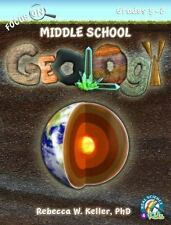 Focus On Middle School Geology Student Textbook softcover Real Science-4-Kids