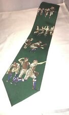 Nautica Green Baseball Players Tie Baseball Game World Series Baseball Season