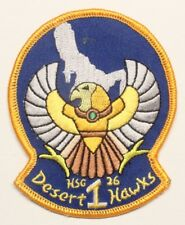 USN Navy patch:  Helicopter Sea Combat Squadron 26 (HSC-26) Detachment 1
