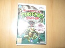 Tortues Ninja : Smash-up NINTENDO WII VERSION PAL COMME NEUF COLLECTORS