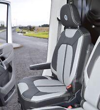 VW Crafter 2017+ Tailored Waterproof Van XF Replica Seat Covers Genuine Fitting